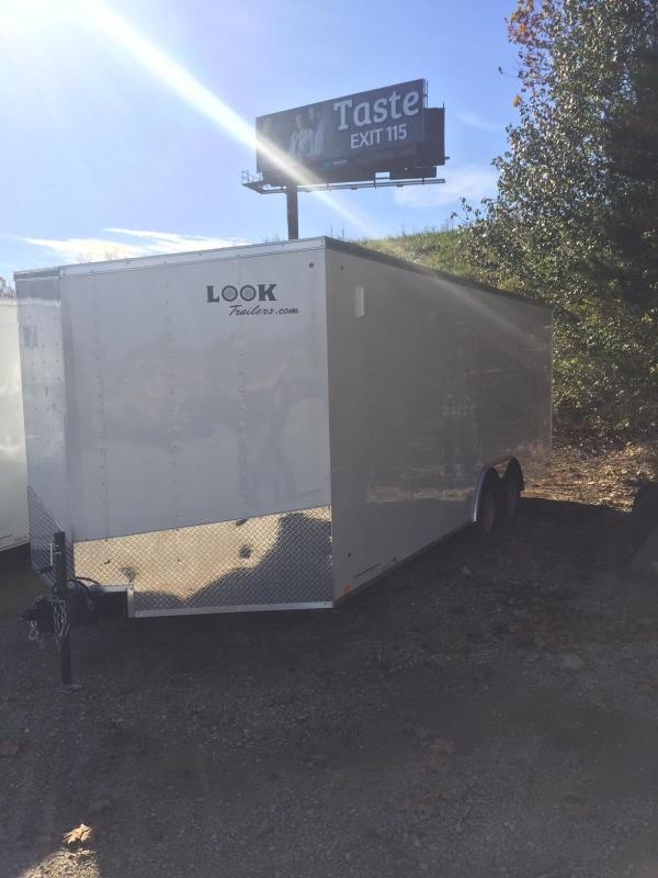 2018 Look Trailers 8.5 x 20 ST DLX Enclosed Cargo Trailer