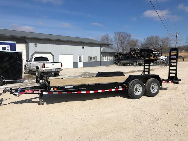 2018 Load Trail 83X20 14K STAND UP RAMPS Equipment Trailer
