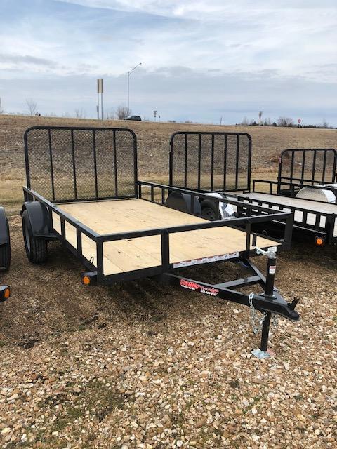 2018 Load Trail 77X12 SE 4 GATE Utility Trailer
