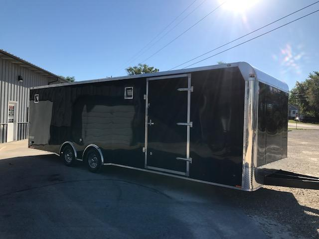 2018 Stealth Trailers CHE8525TA3 Car / Racing Trailer 8.5' X 28' REAPER 7' TALL 110V FINISHED INTERIOR BLACK