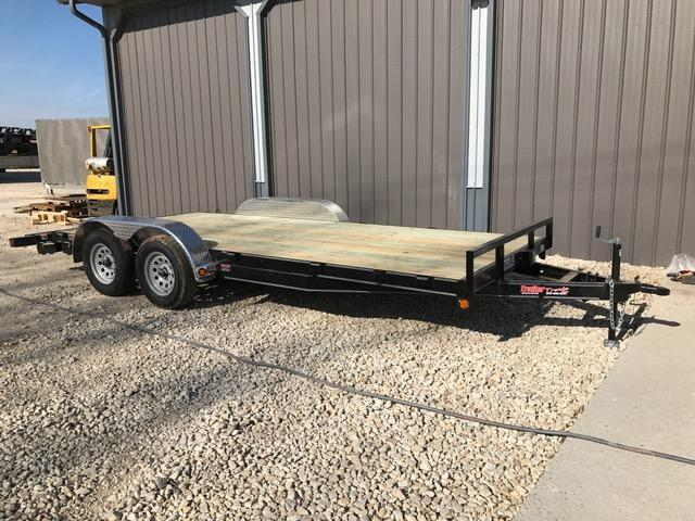 2017 Load Trail 29123 Flatbed Trailer 83 X 18 TANDEM AXLE W/3