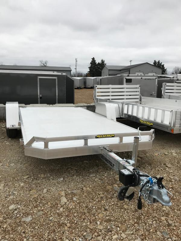2018 Aluma 8214HSTILT WITH SLING SHOT PACKAGE Utility Trailer