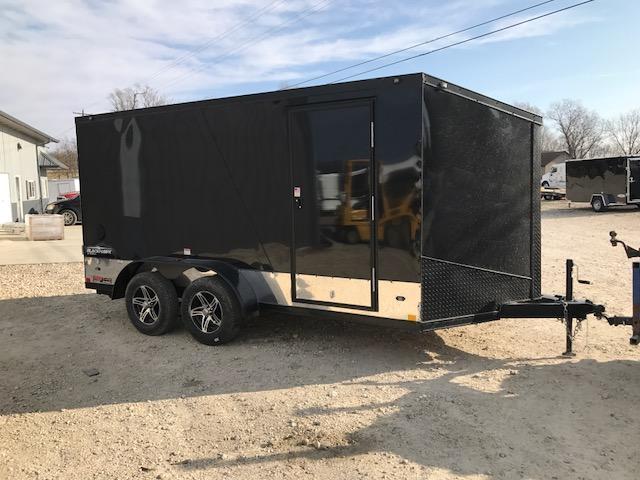 2018 Stealth Trailers 7X14 BLACKHAWK ALUMINUM 2 BIKE Enclosed Cargo Trailer