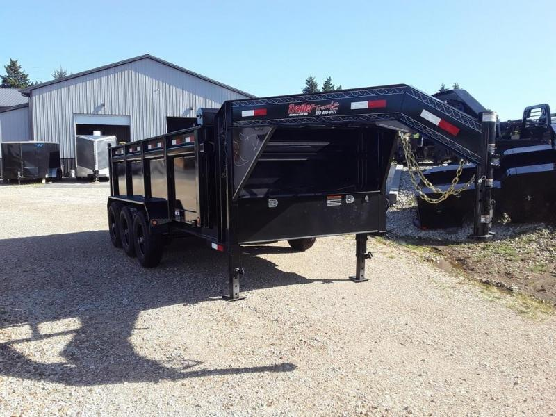 2019 Load Trail 83X16 LOADTRAIL DUMP MAX STEPS 3 WAY GATE Dump Trailer