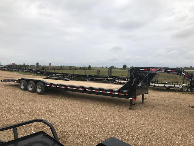 2018 Load Trail 102x36 CH GOOSENECK DRIVE OVER FENDERS 21K Equipment Trailer