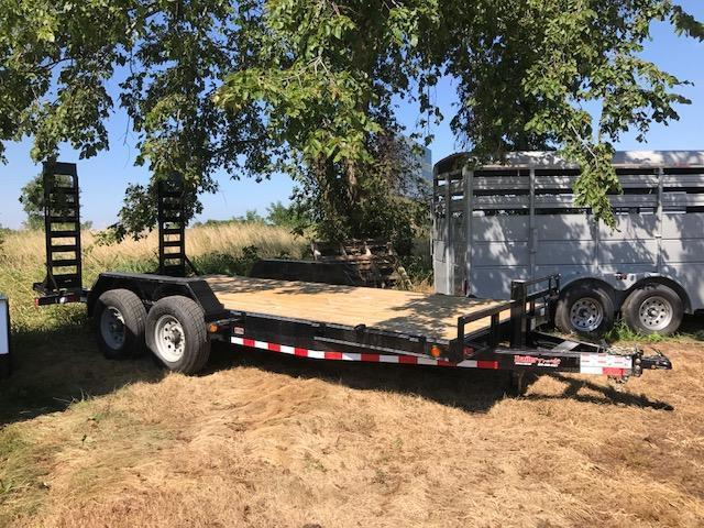 2017 Load Trail CH8318 Equipment Trailer 83