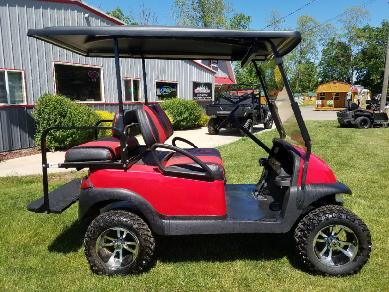 2012 Club Car Precedent Red Beast 48V Golf Cart Golf Cart