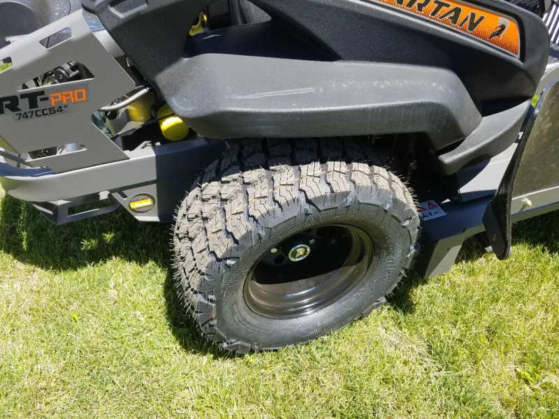 2018 Spartan RT PRO 54 Zero Turn Mower Lawn