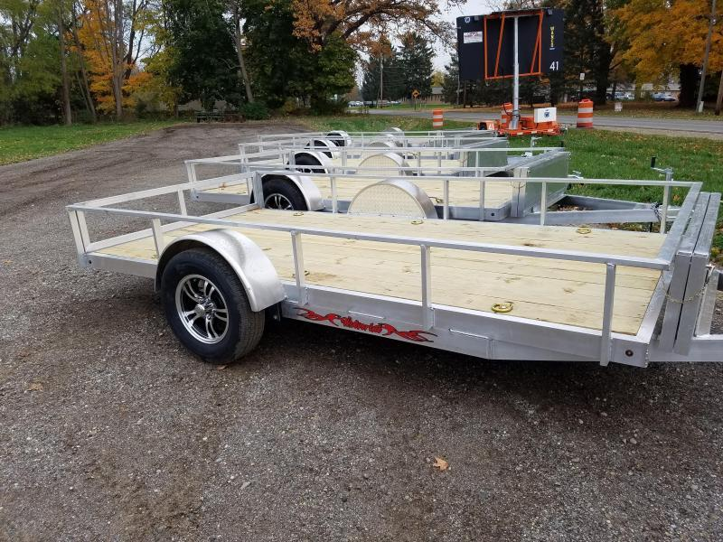 2016 Wolverine Trailers 6x12 Utility Trailer