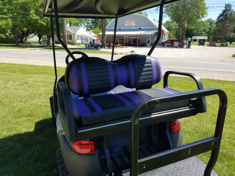 2017 Club Car Phantom Purple 48V Golf Cart Golf Cart