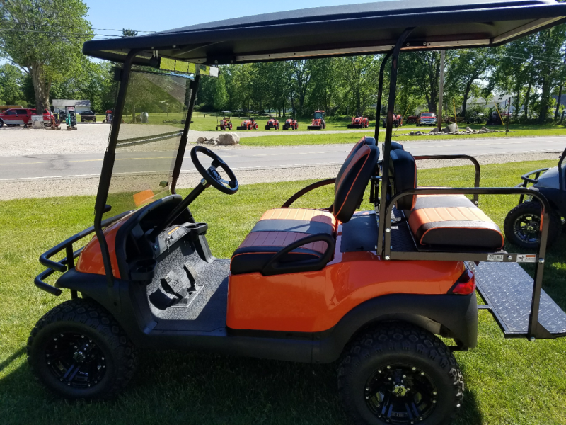 2006 Club Car 48V Precedent Orange Crush Edition Golf Cart