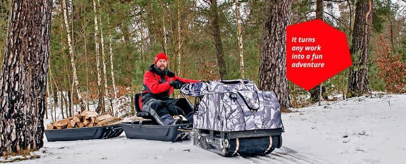 2017 SnowDogg SnowDog 13HP Black With Reverse ATV