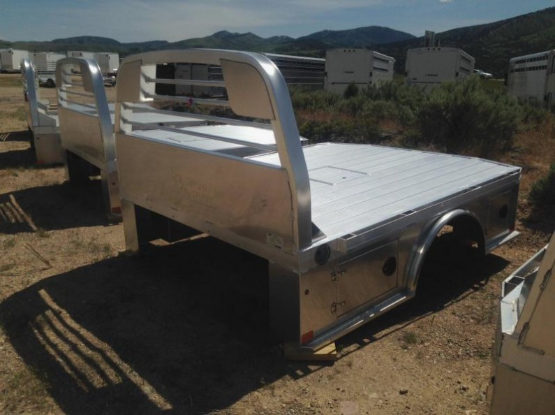 Used Aluminum Utility Truck Beds
