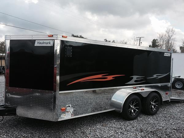 2015 Haulmark 7x14 Motorcycle Trailer