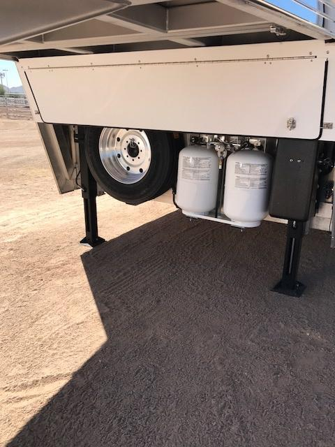 "2018 Bloomer Trailer Manufacturing 179"" SW Slide Out 4H PC Load Horse Trailer"