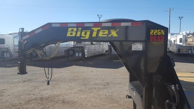 2017 Big Tex Trailers 22GN-25+5 Mega Ramps Flatbed Trailer