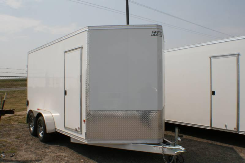 2015 Mission 7x14 Easy Hauler Cargo Trailer