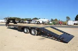 2016 Big Tex 22GN 35 HDTS Hydraulic Dove Tail Trailer