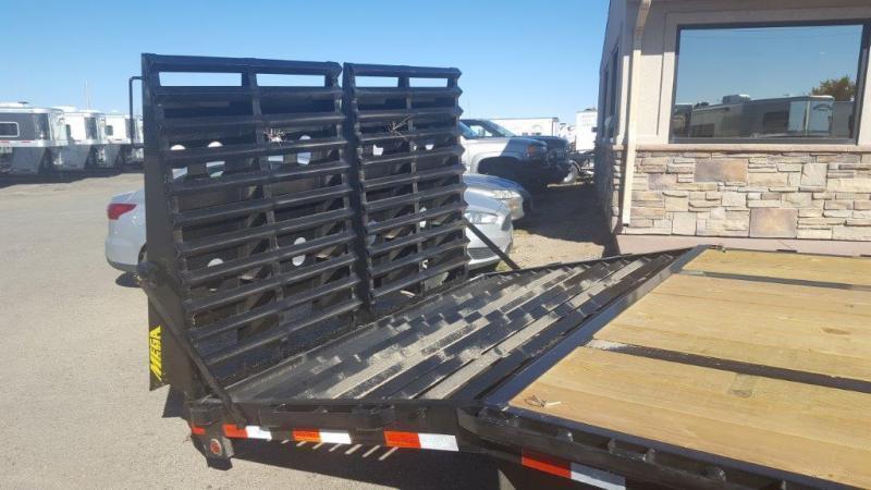 2017 Big Tex Trailers 22GN-30+5 Mega Ramps Flatbed Trailer