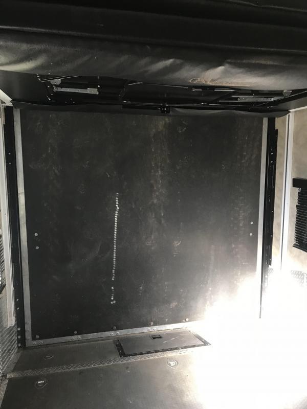 2010 Keystone RV Fuzion FZ398 Toy Hauler 14 Garage Toy Hauler