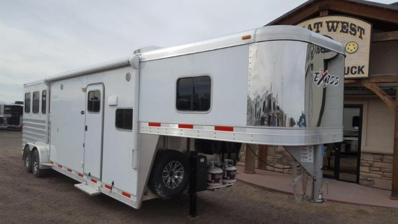 2016 Exiss Trailers Horse Trailer 7310