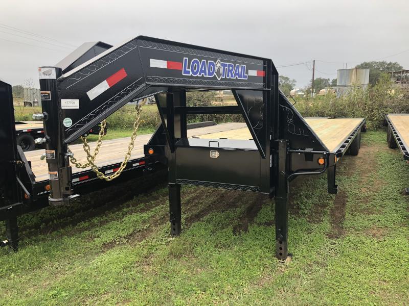 2019 Load Trail 102 x 40 Tandem Heavy Duty Gooseneck Max Ramps Flatbed Trailer