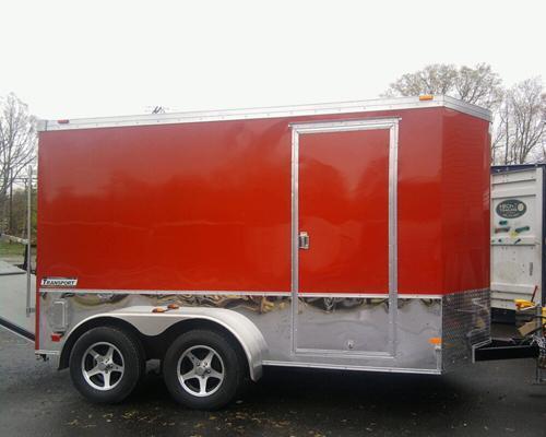 HAULMARK 6X12TSTV DS2 LD RAMP RED