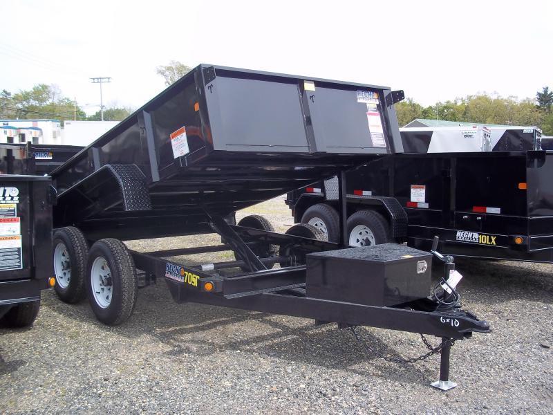 2018 Big Tex Trailers DT-6X10 70SR-10BK LO PRO BLACK Dump Trailer
