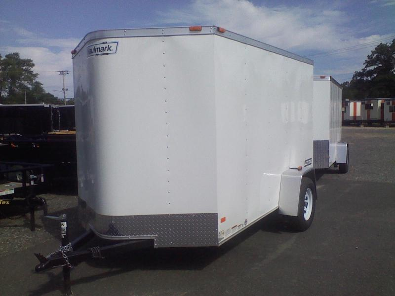 2017 Haulmark 6X10PPT DS2 LD RAMP WHITE Enclosed Cargo Trailer
