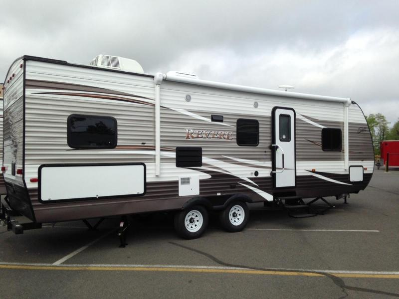 2015 Shasta USED REVERE 27BH Travel Trailer RV