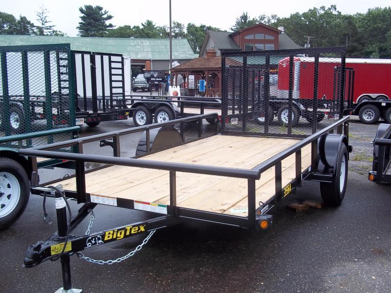2016 Big Tex Trailers UT-6.5X12 35SA-12BK4RG Utility Trailer