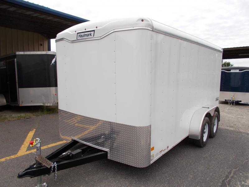 2017 Haulmark 7X14 TST WT2 12X TUNG WHITE Enclosed Cargo Trailer