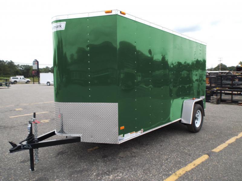 2017 Haulmark 6X12PPT DS2 LD RAMP GREEN Enclosed Cargo Trailer