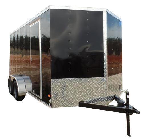 2017 Haulmark 5X10TH DS2 LD RAMP BLACK Enclosed Cargo Trailer