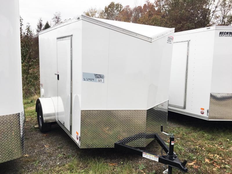 2018 Bravo Trailers 6X10 SC SA V LD RAMP APP WHITE Enclosed Cargo Trailer