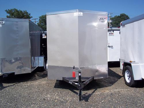2017 Bravo Trailers 5X10SC SA V LD RAMP APP SILVER Enclosed Cargo Trailer
