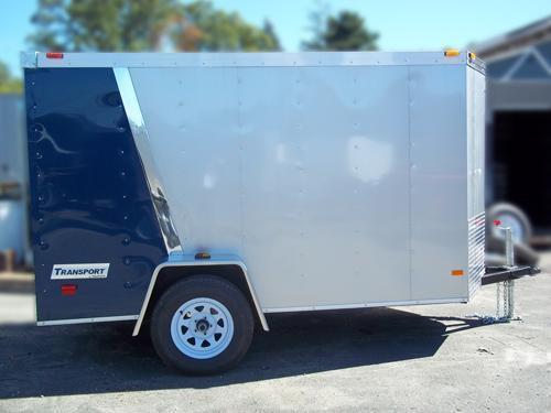 2015 Haulmark 5x10 TSTV DS2 RAMP Enclosed Cargo Trailer