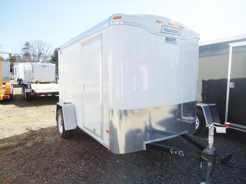 2017 Haulmark 6X12TST DT2 WHITE Enclosed Cargo Trailer
