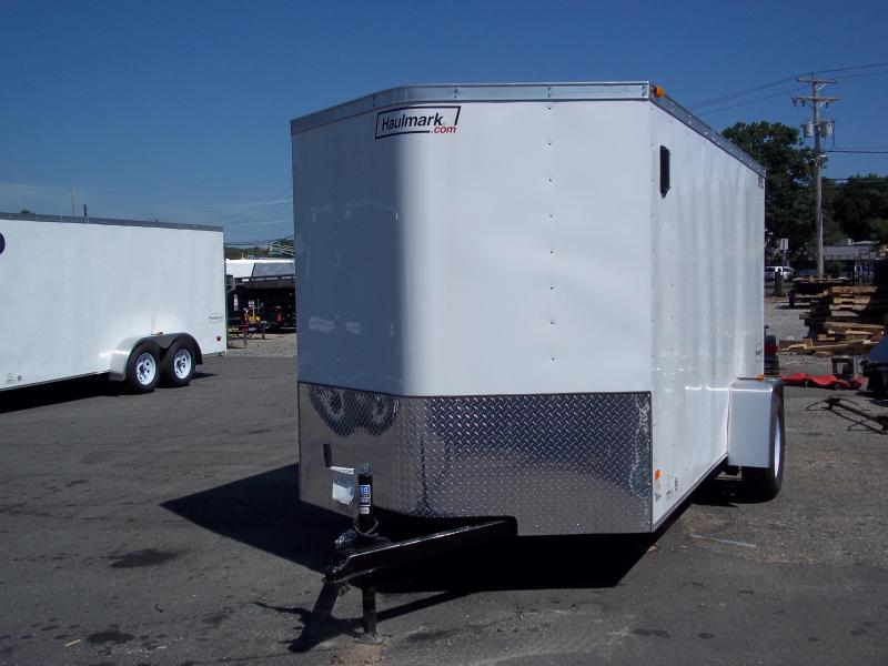 2016 Haulmark 6X12PPT DS2 SVNT JCKS RAMP Enclosed Cargo Trailer
