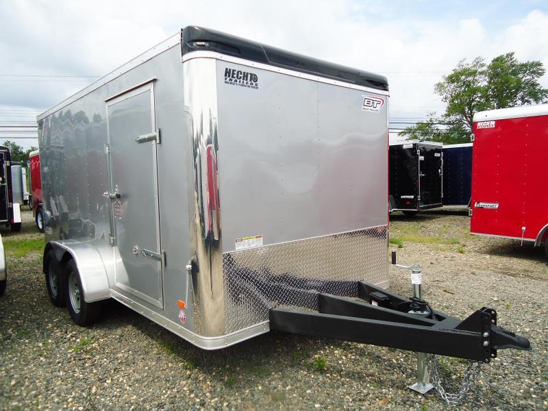 2018 Bravo Trailers 7X14 ST TA2 LNDSCP HD RAMP SILVER Enclosed Cargo Trailer