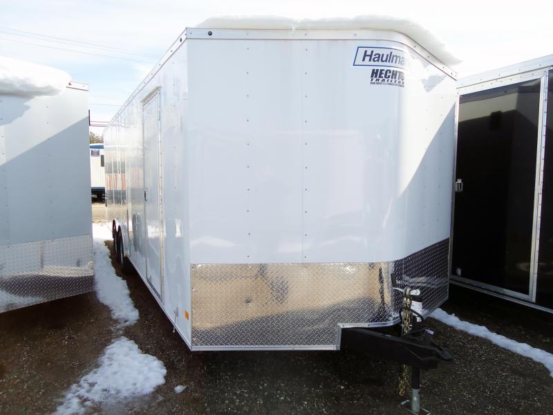 2018 Haulmark 8.5X24 PPT WT3 WHITE Enclosed Cargo Trailer