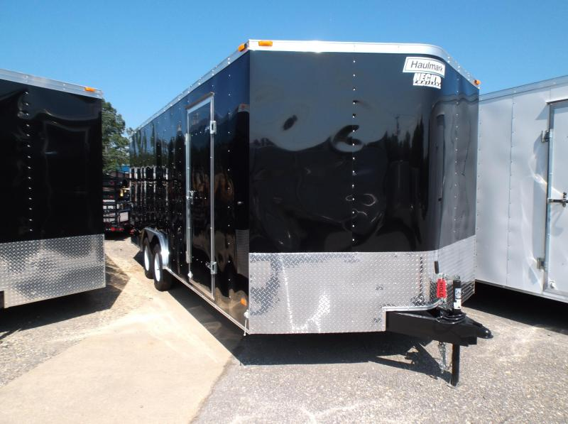 2017 Haulmark 8.5X24PPT WT3 BLACK Enclosed Cargo Trailer