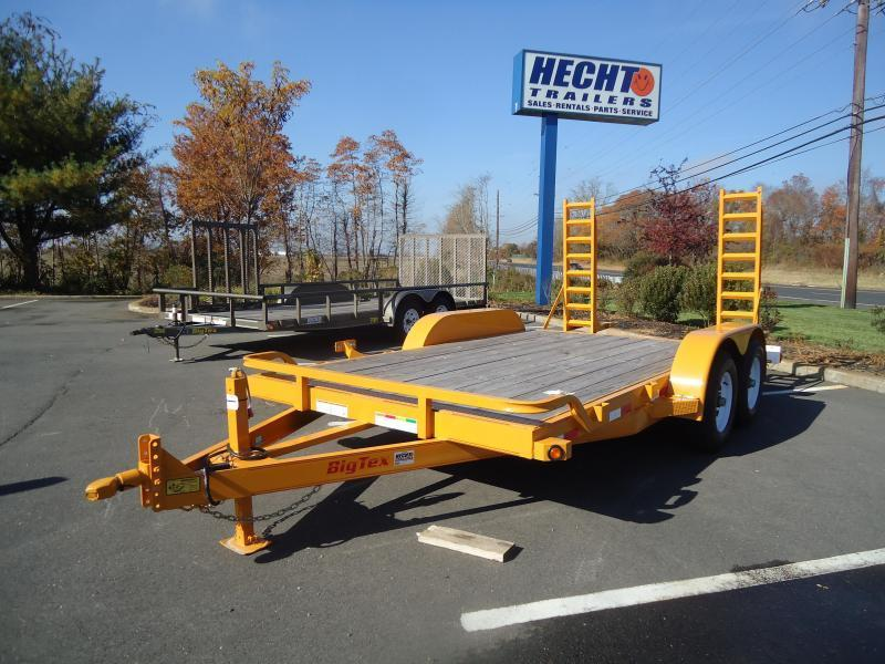 2016 Big Tex Trailers EH-7X18 10ET-18YE PIG TAIL Equipment Trailer