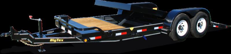 2016 Big Tex Trailers EH-7X20 10TL-164BK Equipment Trailer