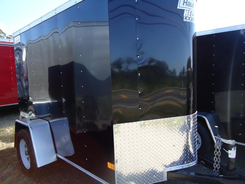 2018 Haulmark 5X8 PPT DS2 RAMP BLACK Enclosed Cargo Trailer