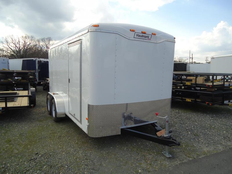 2016 Haulmark 7X18TST WT2 RAMP DRNG RSV Enclosed Cargo Trailer