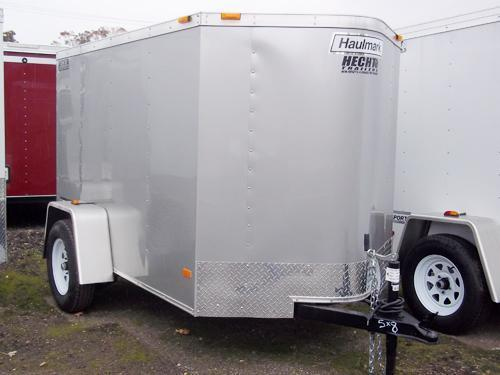 2017 Haulmark 4X6PPT DS2 Silver Enclosed Cargo Trailer