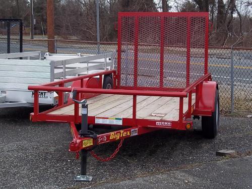 BIG TEX UT-5X10 30SA-10RD4RG SPMT RED