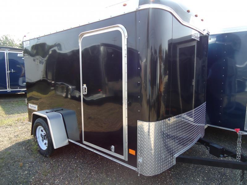 2017 Haulmark 6X10CB DS2 LD RAMP BLACK Enclosed Cargo Trailer