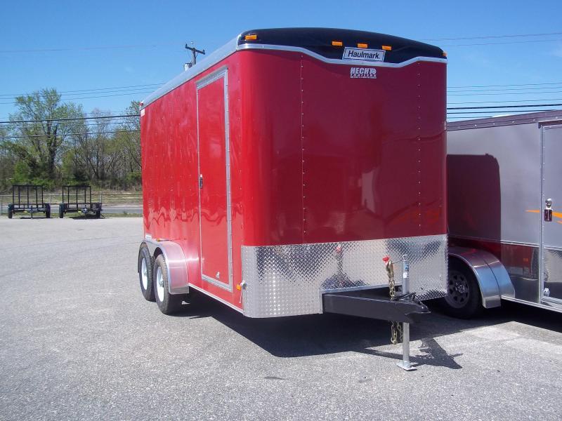 2017 Haulmark 7X16TST WT2 RED Enclosed Cargo Trailer